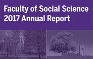 2017 Annual Report Western University Faculty of Social Science