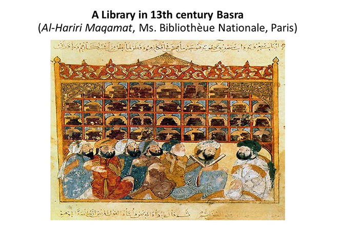 The University Library in Tenth Century Baghdad