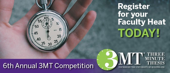 3MT Competition 2017