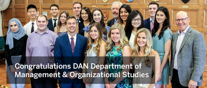 DAN Department of Management & Organizational Studies