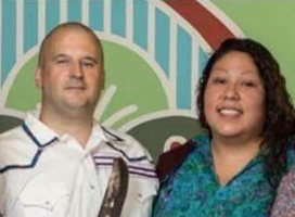 Jason and Lori George, recent graduates from First Nations Studies at Western