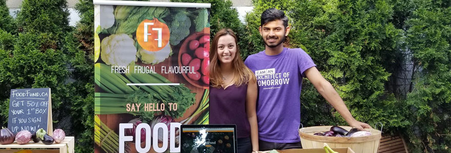 Alysaa Co and Divyansh Ojha, Founders of Food Fund