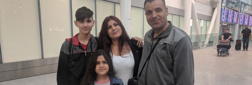 Second family of Syrian refugees sponsored by the Western University community