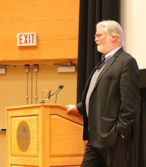 Renowned Sociologist Douglas Massey spoke at Western University, delivering the inaugural Balakrishnan Distinguished Lecture in Population Dynamics and Inequality