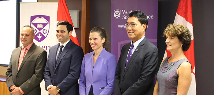 Minister of Science Kirsty Duncan spoke at Western University