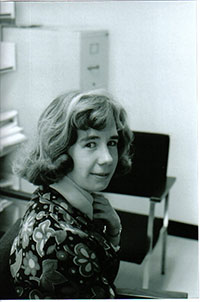 Anne Denis, Sociology Student 1974