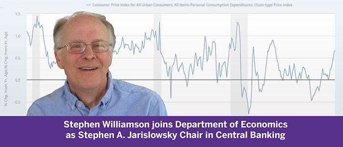 Stephen Williamson named Stephen A Jarislowsky Chair in Central Banking